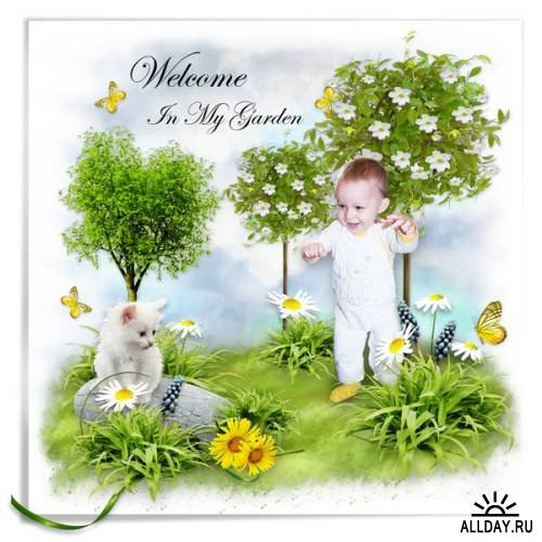 Скрап-набор - Welcome In My Garden