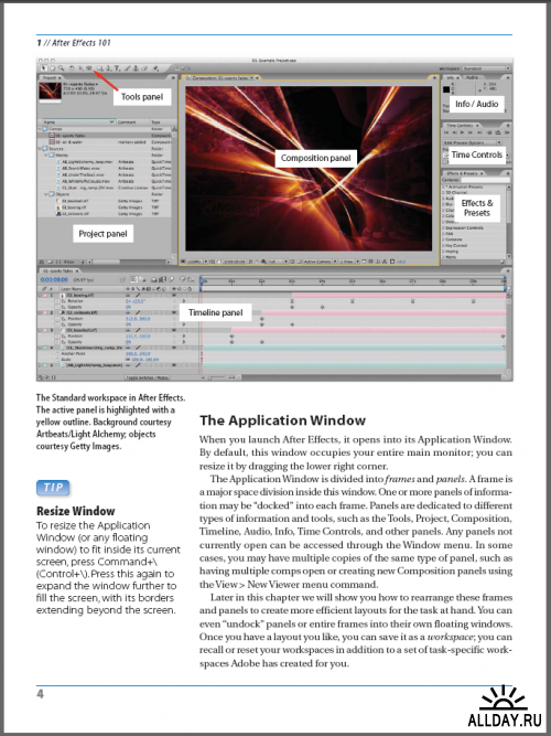 eBook: Focal Press: Creating Motion Graphics with After Effects CS3 - Essential and Advanced (Complete DVD)