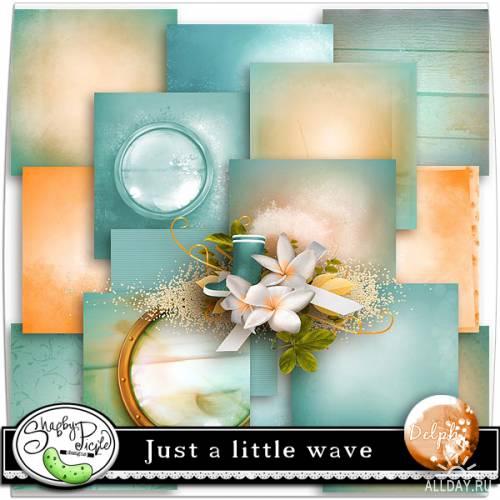 Скрап-набор - Just a little wave