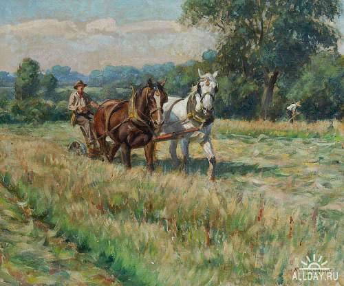 Английский живописец Rowland Wheelwright (1870-1955)
