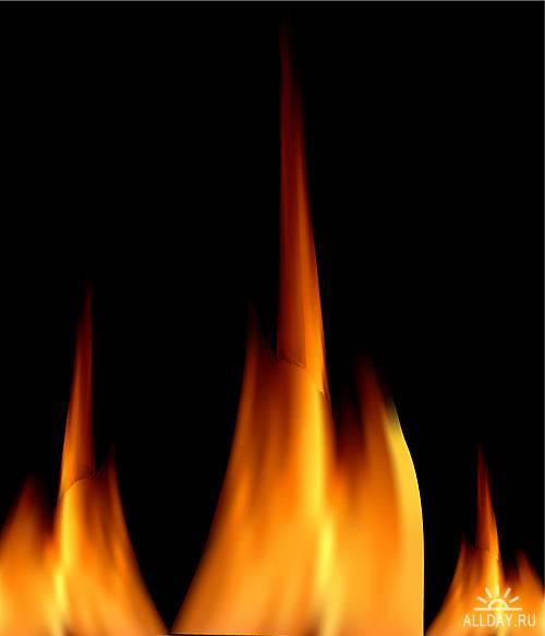 Stock Vectors - Fire | Огонь