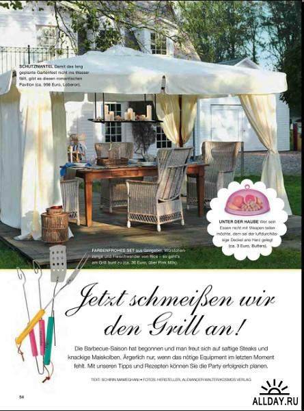 Traumwohnen & Genieben №3 (Mai / Juni 2013)