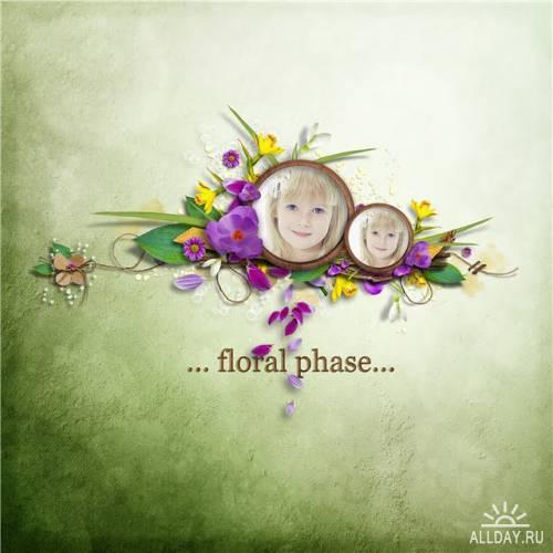 Скрап-набор Floral Phase