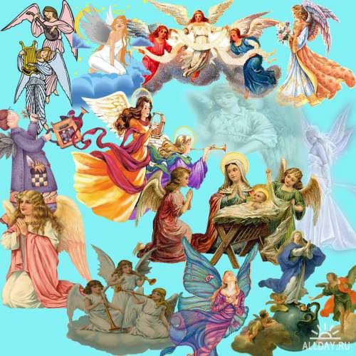 Ангелочки в PSD