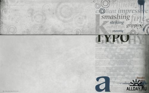 Typography Wallpaper (part 1)