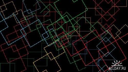 Абстрактная графика для фона на рабочем столе 73