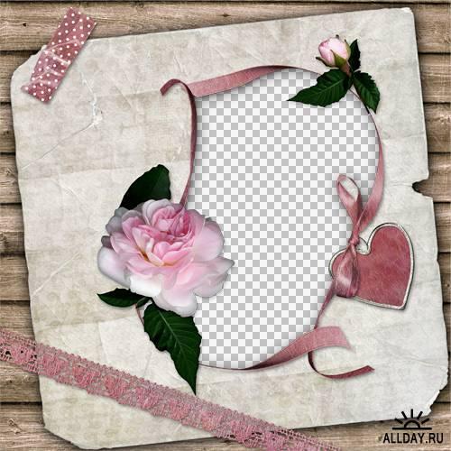7 романтических скрап-страничек