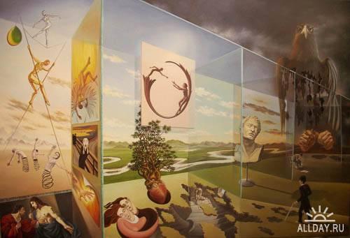 Cюрреализм. Gyuri Lohmuller. Surrealism