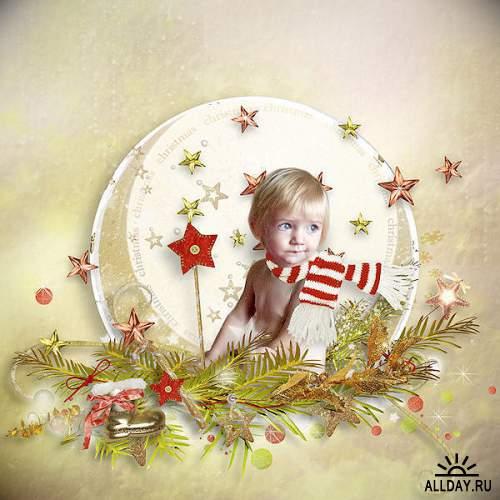 Скрап-набор Christmas Secrets