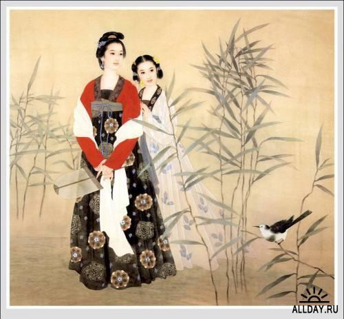 Луноликие девы Китая