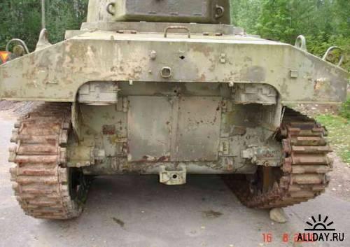 Американский средний танк M4 Sherman