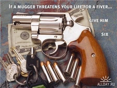 Огнестрельное оружие на рабочий стол