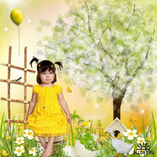 Scrap kit  Yellow Dream