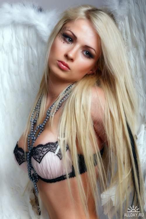 Фотосток - Секси Ангелы и Дьяволицы / Sexy Girls Angels & Devil