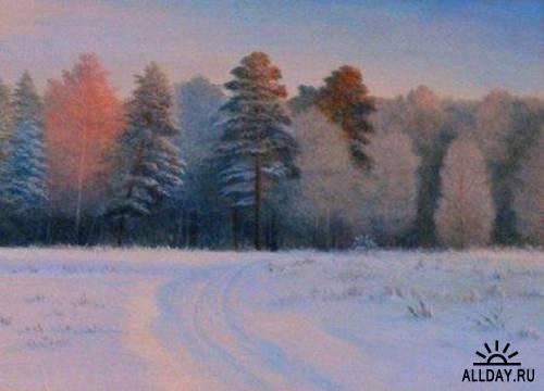 Коллекция работ художника Павла Правдина