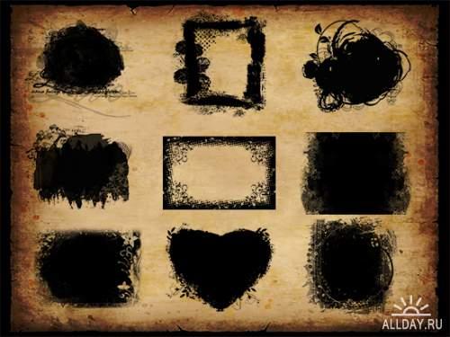 Сборник масок для Фотошоп