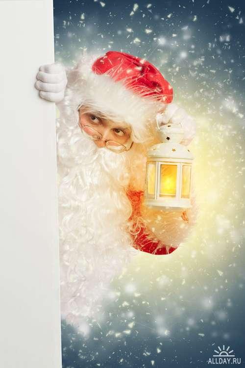 Санта Клаус - Растровый клипарт | Santa Clause - UHQ Stock Photo