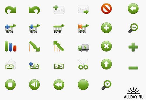 Иконки Milky от IconEden (free)