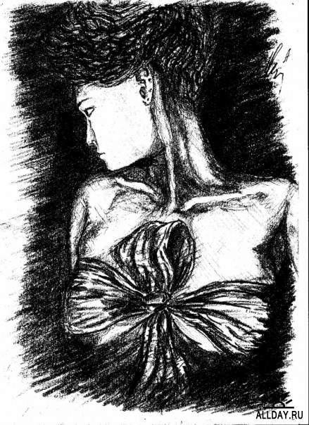 Депрессивные рисунки А.А.Черепко