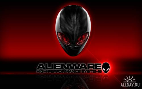 Обои в стиле Alienware