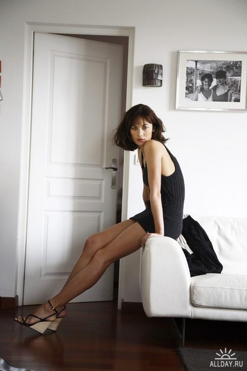 Olga Kurylenko - Karine Belouaar PhotoShoot