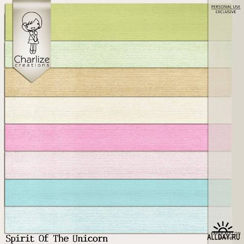 Скрап-набор - Spirit Of The Unicorn