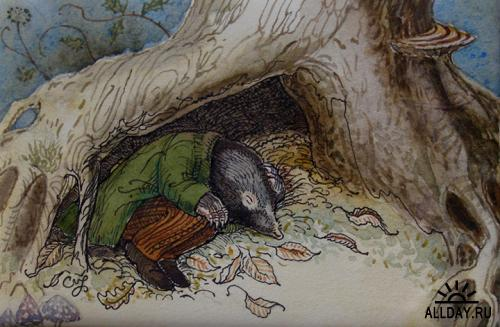 Иллюстрации от Charles van Sandwyk