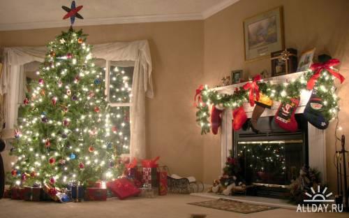 Обои к Новому году и Рождеству