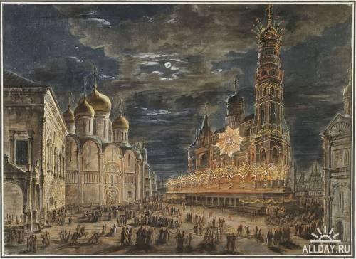 Русский живописец Алексеев Федор Яковлевич