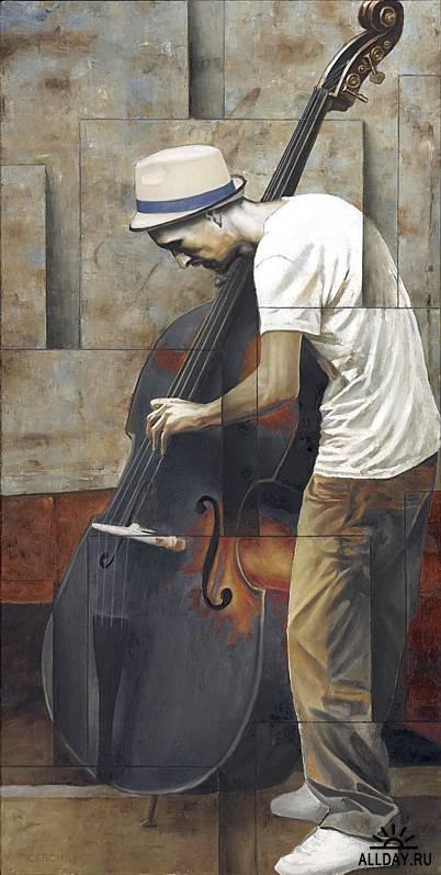 Работы итальянского художника  Sergio Cerchi