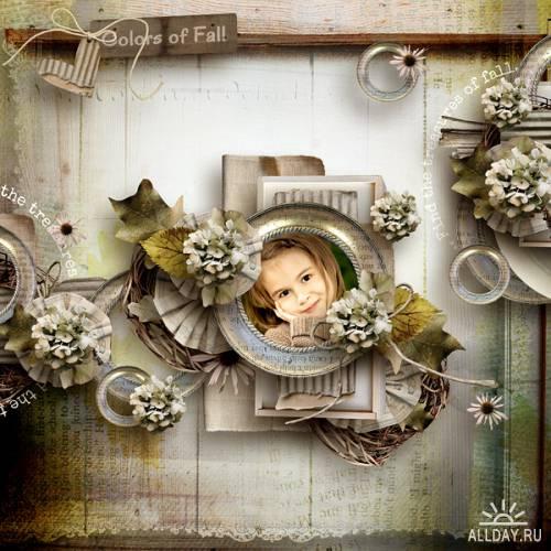 Скрап-набор Fall Treasures