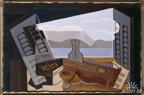 Кубические фантазии Хуана Гриса (Juan Gris) 1887-1927