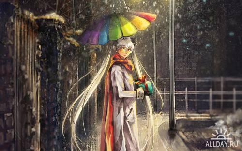40 Wonderful Anime HD Wallpapers (Set 10)