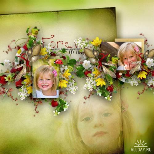 Скрап-набор  Annabelle's garden