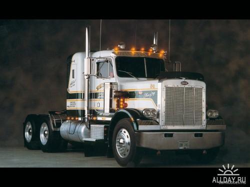 Подборка обоев с грузовыми автомобилями