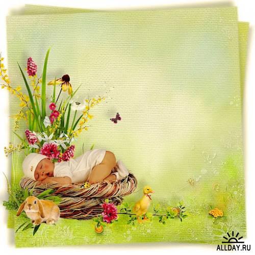 Скрап-набор Lovely spring