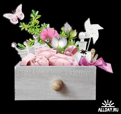 Scrap kit  Shabby-Chric Treasures