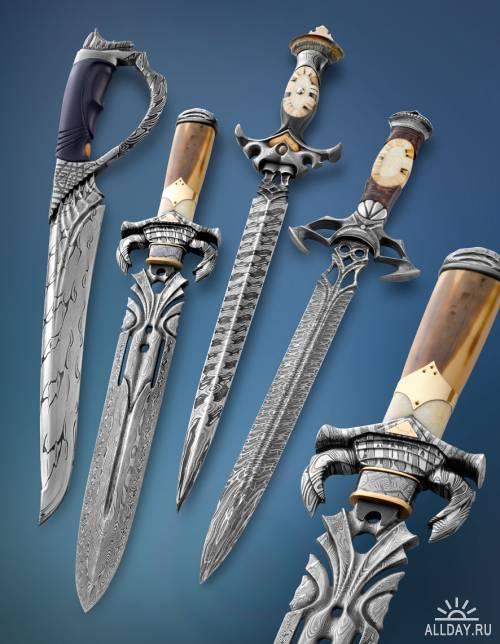 Коллекция холодного оружия.Часть22