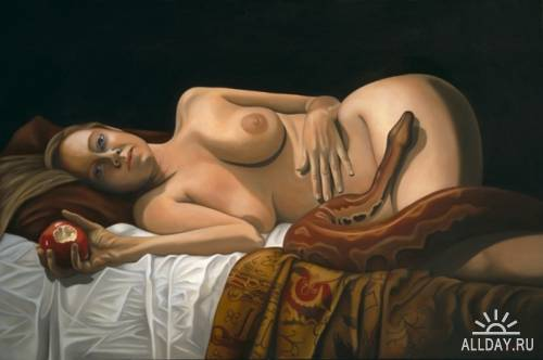 Работы художницы Tina Blondell