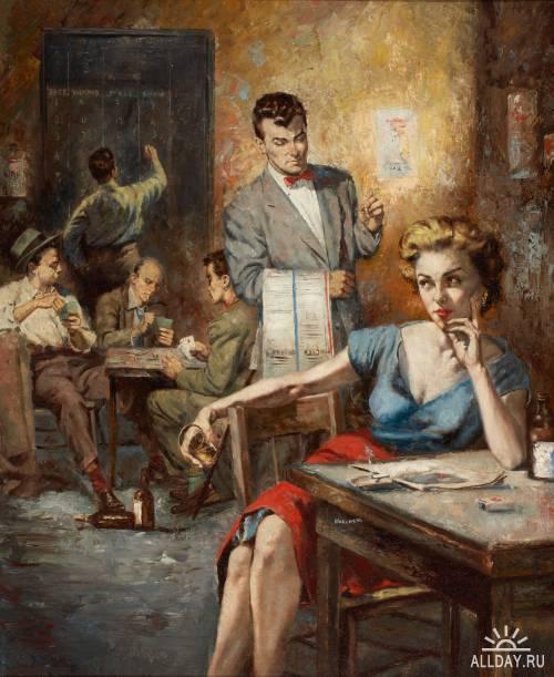 Американский художник и иллюстратор Lou Marchetti