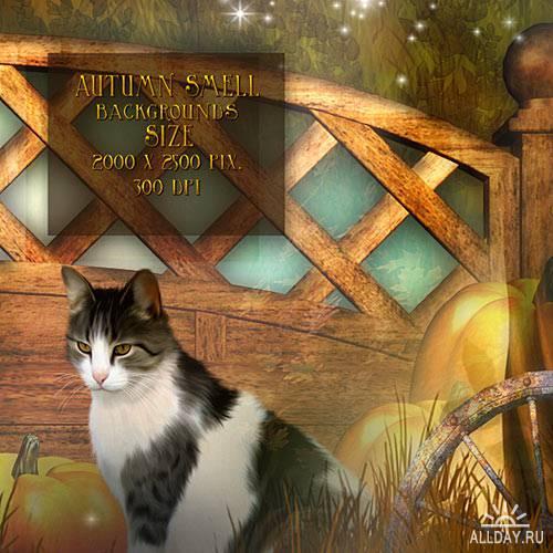 Сказочные фоны - Autumn smell by assnezana