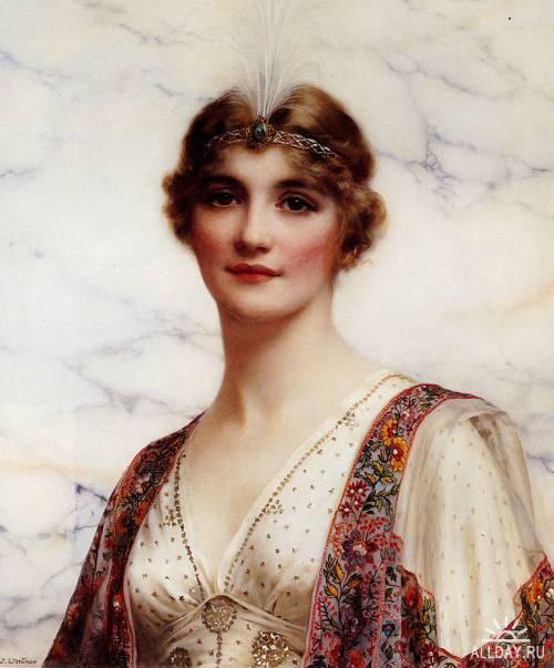 Английский живописец William Clarke Wontner (1857 - 1930)