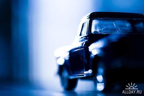 Растровый клипарт - Ретро автомобили