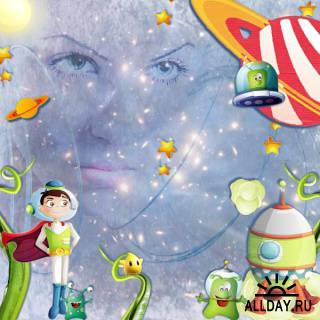 Скрап-набор Астробой / Astroboy