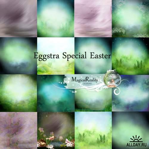 Скрап-набор Eggstra Special Easter