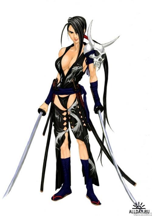 Персонажи из Soul Calibur 4
