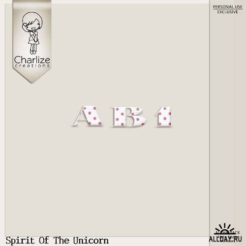 Скрап-набор - Spirit Of The Unicorn
