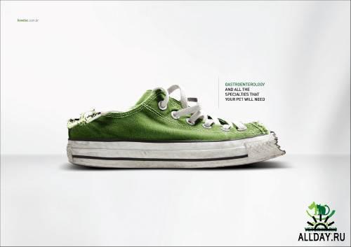 Коллекция креативной рекламы № 20