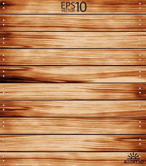 Деревянный фон. Вып.4 | Wooden background. Set.4