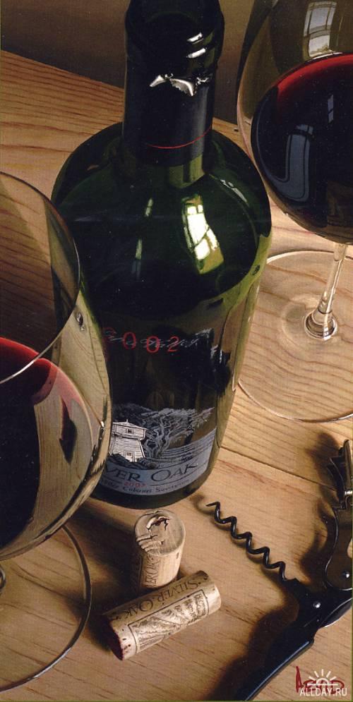 Thomas Arvid - гиперреалист и любитель вина